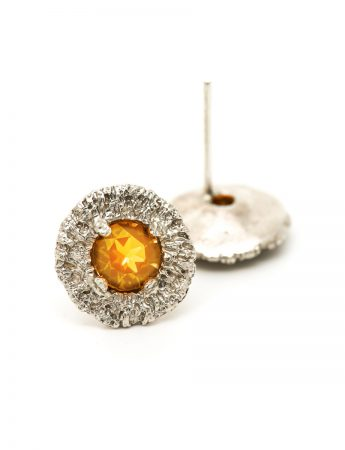 Vortex Earrings – Citrine