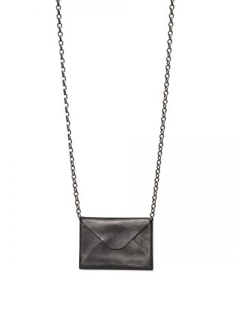 Love Letter Necklace - Black