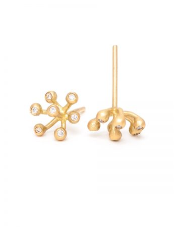 Petits Pois Diamond Stud Earrings