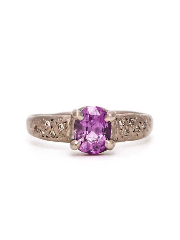 Bewitch Ring – Pink Saphire