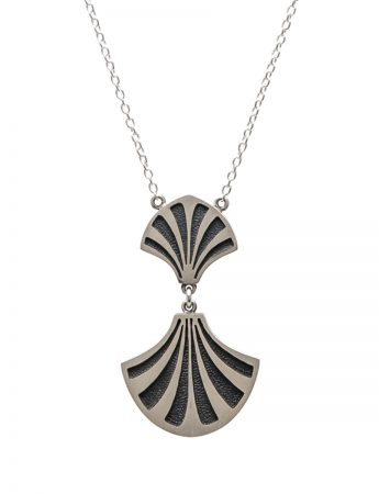 Double Jubilee Necklace - Silver