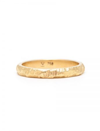 Golden Path II Wedder Ring - Yellow Gold