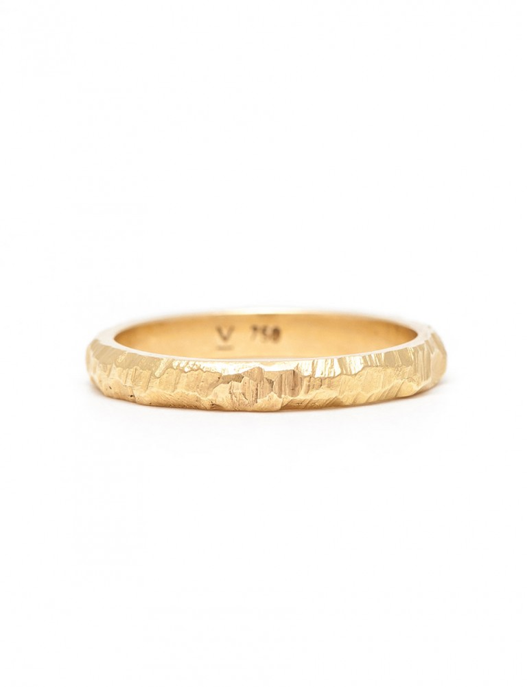 Golden Path II Wedder Ring – Yellow Gold