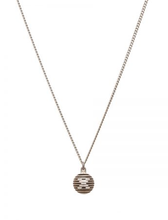 Silver Secret Orb Pendant Necklace – Kiss