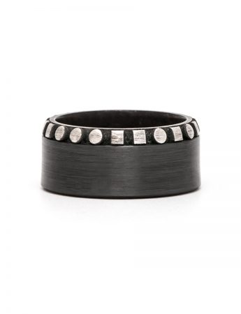 Interpreter Ring – Zirconium & Silver