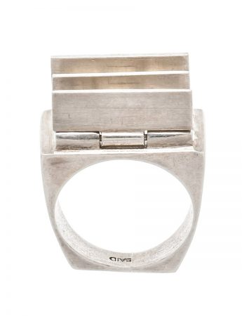 Morphism Ring - Silver