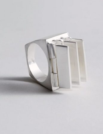 Morphism Ring – Silver