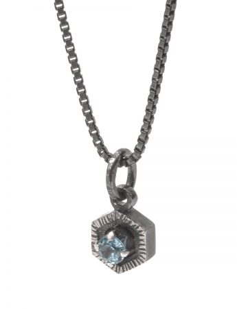 Blue Waters Necklace - Topaz