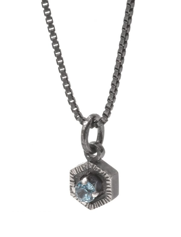 Blue Waters Necklace – Topaz