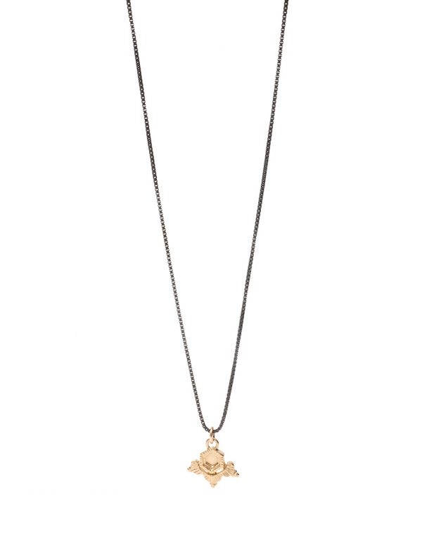 Golden Ice Necklace