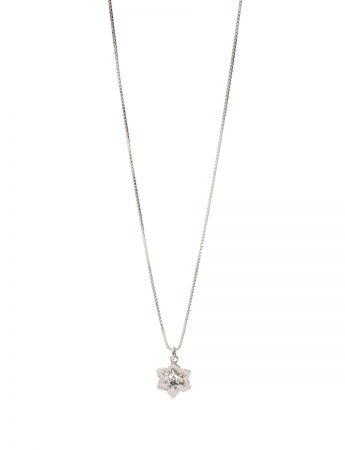 Molten Crystal Necklace – Blue Sapphire