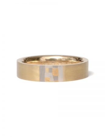 Sampled Terrain Ring – Yellow Gold