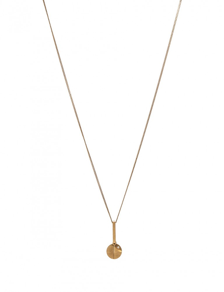 Small Morph Pendant Necklace – Gold & Diamond