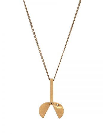 Small Morph Pendant Necklace - Gold & Diamond