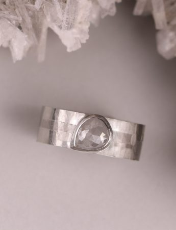 Glacial Terrain Diamond Ring