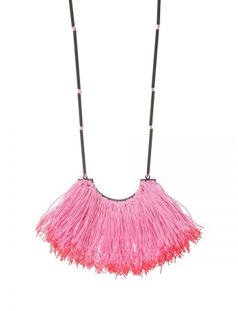 Eucalypt Stamen Necklace - Pink & Red