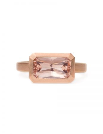 Radiant Blush Ring - Morganite & Rose Gold