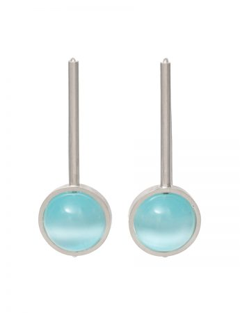 Chromatic Sphere Earrings - Blue
