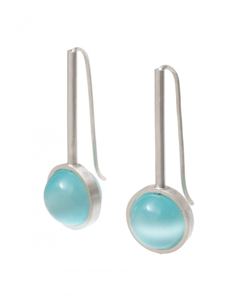 Chromatic Sphere Earrings – Blue