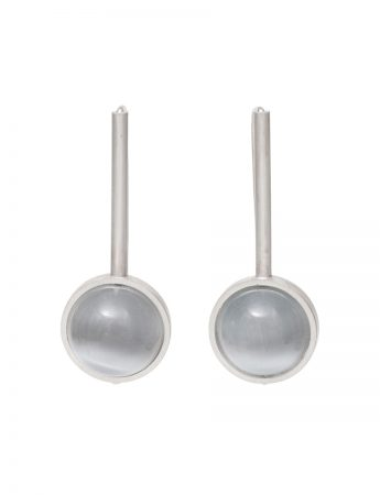 Chromatic Sphere Earrings - Grey