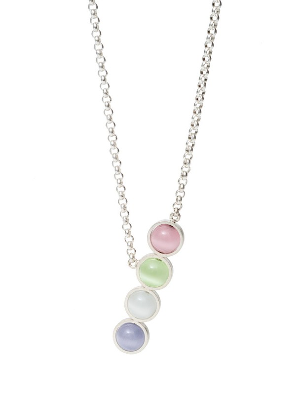 Chromatic Sphere Necklace – Multicolour