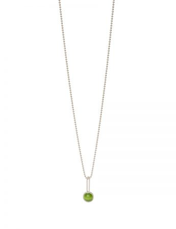 Chromatic Sphere Pendant Necklace - Green