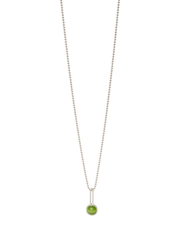 Chromatic Sphere Pendant Necklace – Green