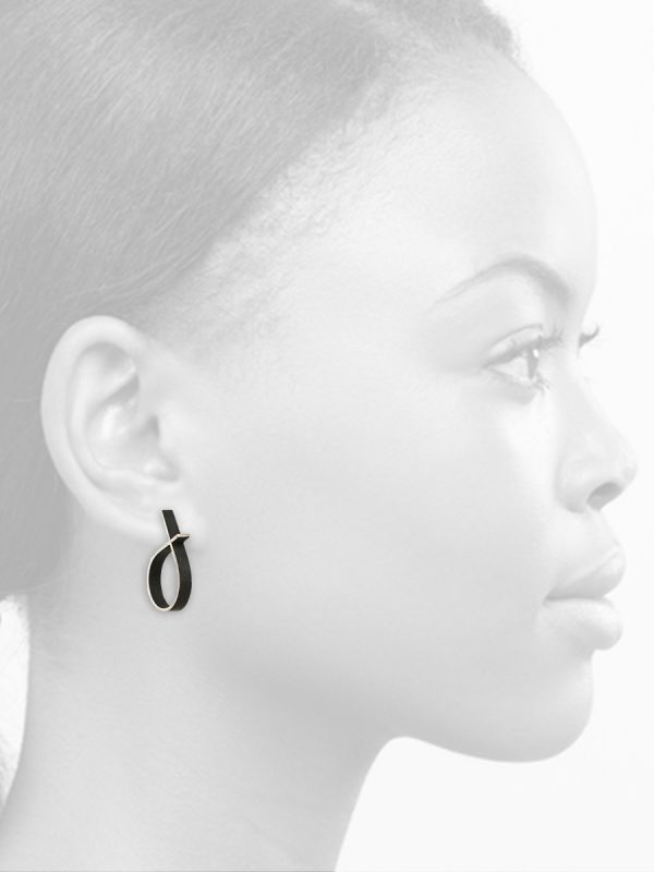 Intersected Circle Outline Earrings
