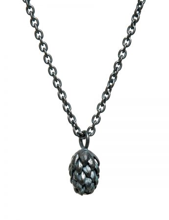 Beachcomber Norfolk Pine Single Drop Necklace - Black