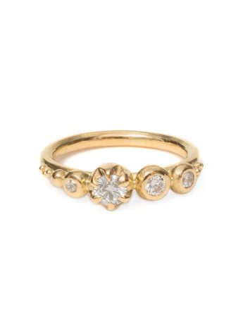 Balmoral Diamond Ring - Yellow Gold