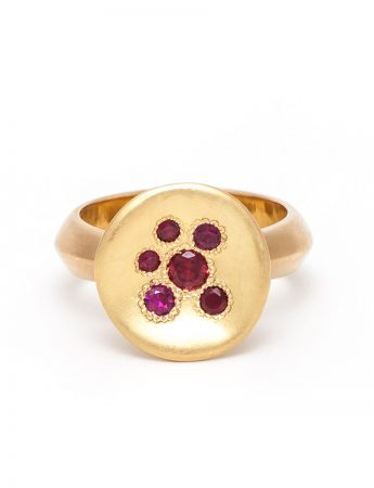 Posy Ring - Ruby