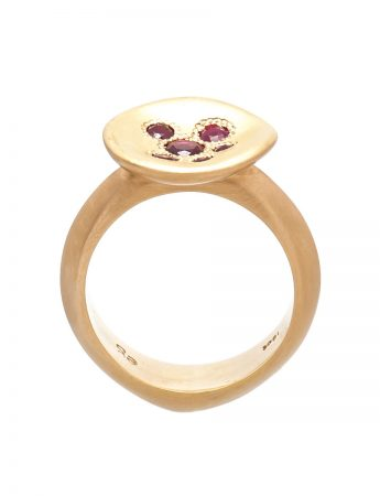 Posy Ring – Ruby