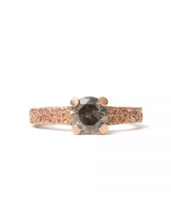 Smokey Diamond Ring - Rose Gold