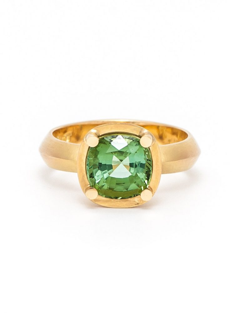 Limerence Ring – Green Tourmaline