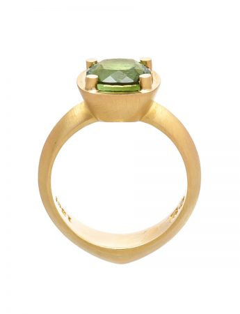 Limerence Ring - Green Tourmaline