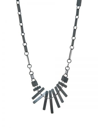 It's a Bit Fishy Necklace – Black