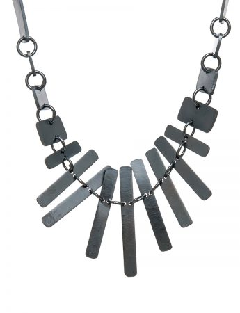 It's a Bit Fishy Necklace - Black