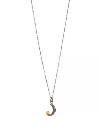 New Moon Necklace - Diamond