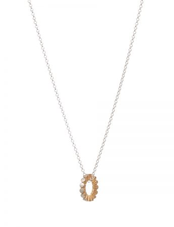 Secret Kisses Necklace - Yellow Gold