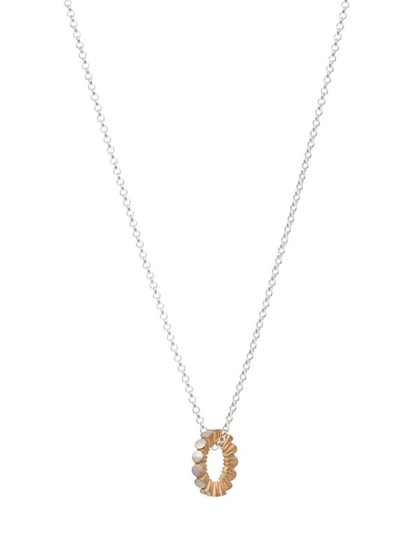 Secret Kisses Necklace – Yellow Gold