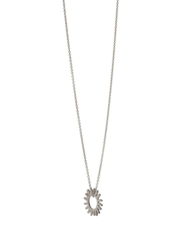 Whirlpool Necklace – Silver