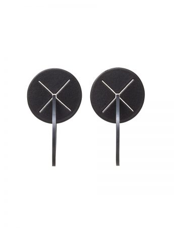 XX Earrings - Black