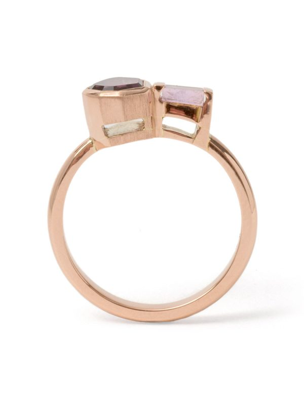 Dichotomy Ring – Spinel & Sapphire