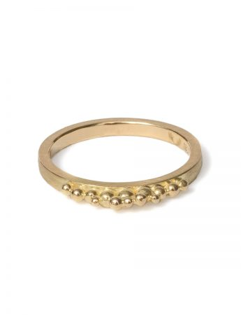 Granule Ring - Yellow Gold