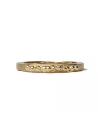 Granule Ring – Yellow Gold
