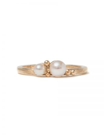 Subtlety Ring - Akoya Pearls