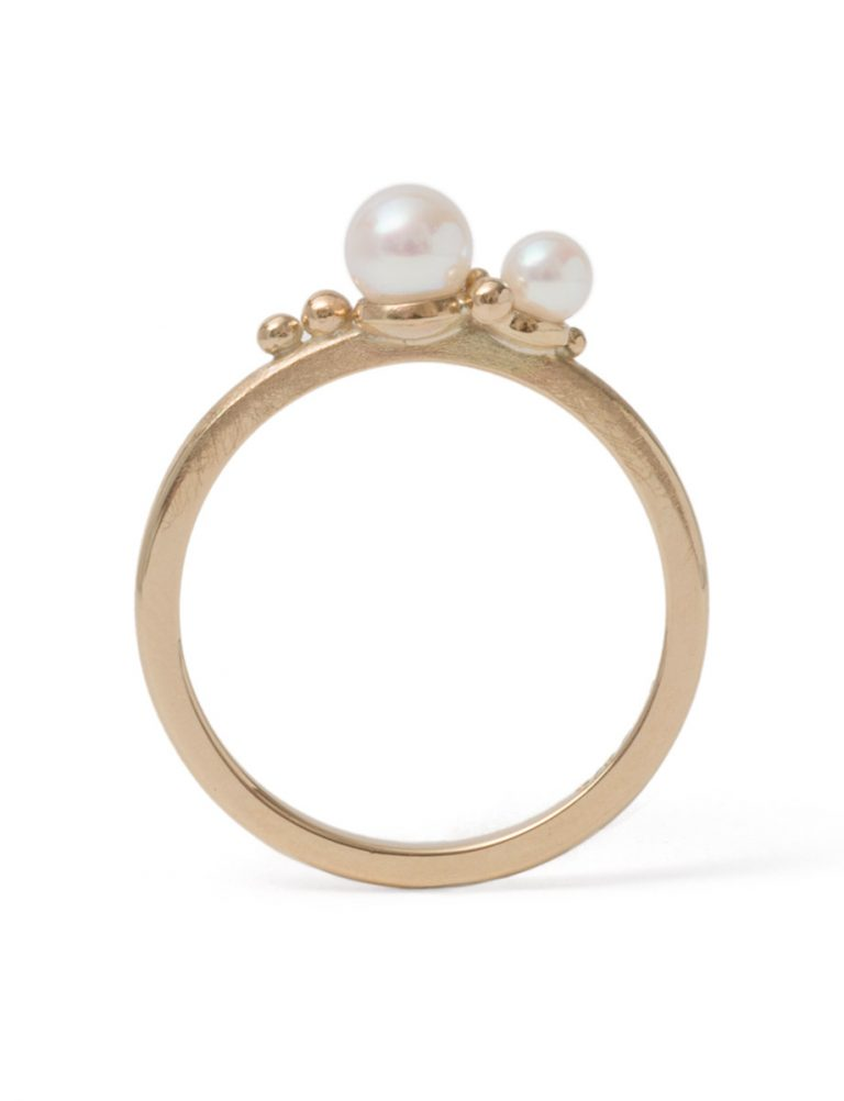 Subtlety Ring – Akoya Pearls