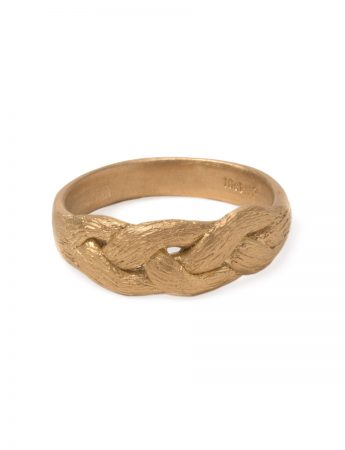 Braid Ring – Yellow Gold