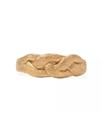 Braid Ring - Yellow Gold