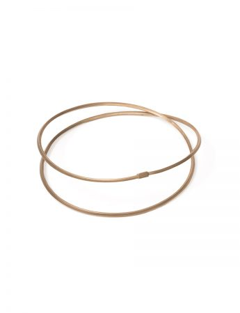 Coil Bangle - Gold